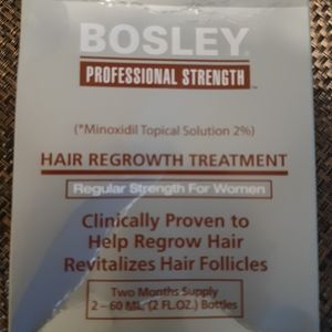 COPY - Bosley  hair regrowth  treatment for women